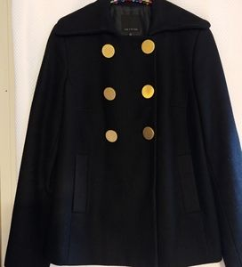The Limited  Double Breasted Wool Coat